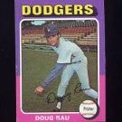 1975 Topps Baseball #269 Doug Rau - Los Angeles Dodgers