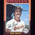 1975 Topps Baseball #225 Bob Grich - Baltimore Orioles
