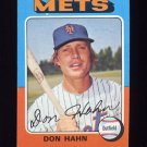 1975 Topps Baseball #182 Don Hahn - New York Mets