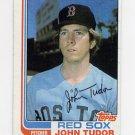 1982 Topps Baseball #558 John Tudor - Boston Red Sox