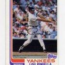 1982 Topps Baseball #538 Lou Piniella - New York Yankees