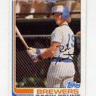 1982 Topps Baseball #435 Robin Yount - Milwaukee Brewers