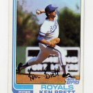 1982 Topps Baseball #397 Ken Brett - Kansas City Royals