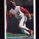 1994 Topps Gold Baseball #250 Barry Larkin - Cincinnati Reds