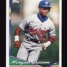 1994 Topps Baseball #590 Marquis Grissom - Montreal Expos