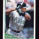 1994 Topps Baseball #560 Gary Sheffield - Florida Marlins