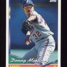 1994 Topps Baseball #440 Dennis Martinez - Montreal Expos