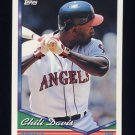 1994 Topps Baseball #265 Chili Davis - California Angels
