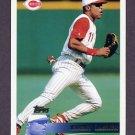 1996 Topps Baseball #293 Barry Larkin - Cincinnati Reds