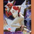 1996 Topps Chrome Baseball #006 Barry Larkin STP - Cincinnati Reds