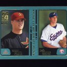 2001 Topps Baseball #738 Anthony Pluta RC / Justin Wayne RC