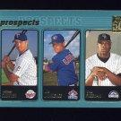 2001 Topps Baseball #730 Michael Cuddyer / Joe Lawrence / Choo Freeman