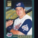 2001 Topps Baseball #636 Jose Canseco - Anaheim Angels