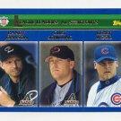 2003 Topps Baseball #348 NL Strikeouts LL Randy Johnson / Curt Schilling / Kerry Wood
