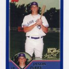 2003 Topps Baseball #305 Jason Perry RC - Toronto Blue Jays