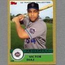 2003 Topps Traded Gold Baseball #T144 Victor Diaz - New York Mets 0461/2003