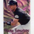 1997 Fleer Baseball Rookie Sensations #17 Neifi Perez - Colorado Rockies