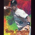 1997 Fleer Baseball Rookie Sensations #11 Edgar Renteria - Florida Marlins