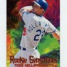 1997 Fleer Baseball Rookie Sensations #06 Todd Hollandsworth - Los Angeles Dodgers