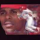 1997 Fleer Baseball Team Leaders #17 Barry Larkin - Cincinnati Reds