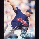 1997 Fleer Baseball Tiffany #083 Jose Mesa - Cleveland Indians