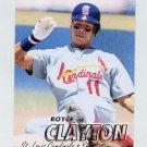 1997 Fleer Baseball #440 Royce Clayton - St. Louis Cardinals