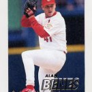 1997 Fleer Baseball #438 Alan Benes - St. Louis Cardinals