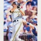 1997 Fleer Baseball #430 Jeff King - Pittsburgh Pirates