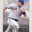 1997 Fleer Baseball #390 Edgardo Alfonzo - New York Mets