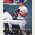 1997 Fleer Baseball #364 Todd Hollandsworth - Los Angeles Dodgers