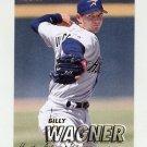 1997 Fleer Baseball #354 Billy Wagner - Houston Astros