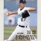 1997 Fleer Baseball #325 Kevin Brown - Florida Marlins