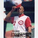 1997 Fleer Baseball #295 Thomas Howard - Cincinnati Reds