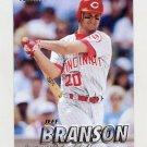 1997 Fleer Baseball #291 Jeff Branson - Cincinnati Reds
