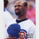 1997 Fleer Baseball #280 Brian McRae - Chicago Cubs