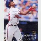 1997 Fleer Baseball #257 Andruw Jones - Atlanta Braves