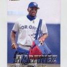 1997 Fleer Baseball #244 Sandy Martinez - Toronto Blue Jays