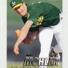 1997 Fleer Baseball #194 Mike Mohler - Oakland A's