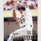 1997 Fleer Baseball #193 Mark McGwire - Oakland A's