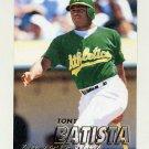 1997 Fleer Baseball #183 Tony Batista - Oakland A's