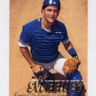 1997 Fleer Baseball #123 Mike Sweeney - Kansas City Royals