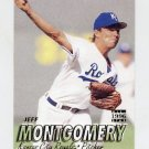1997 Fleer Baseball #117 Jeff Montgomery - Kansas City Royals