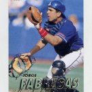 1997 Fleer Baseball #042 Jorge Fabregas - California Angels