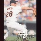 1997 Fleer Baseball #011 Randy Myers - Baltimore Orioles