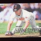 1997 Fleer Baseball #002 Brady Anderson - Baltimore Orioles