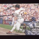 1997 Fleer Baseball #001 Roberto Alomar - Baltimore Orioles