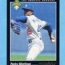 1993 Pinnacle Baseball #259 Pedro Martinez - Los Angeles Dodgers