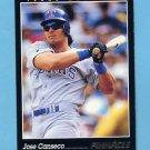 1993 Pinnacle Baseball #049 Jose Canseco - Texas Rangers