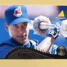 1995 Pinnacle Baseball #350 Manny Ramirez - Cleveland Indians