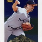 1996 Pinnacle FOIL Baseball #251 Bret Saberhagen - Colorado Rockies